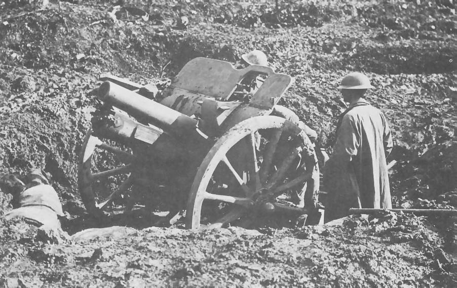 Image result for ww1 British 4.5 inch howitzer