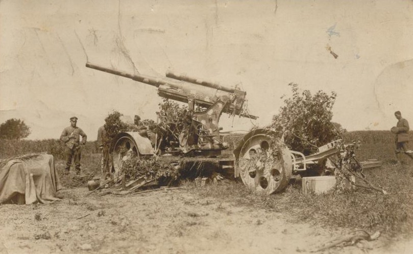 Image result for GERMAN 8cm K.-Zugflak L/45 anti-aircraft gun