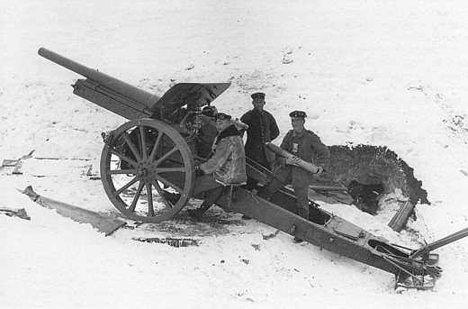 Image result for Kanone M04 L/30 field gun