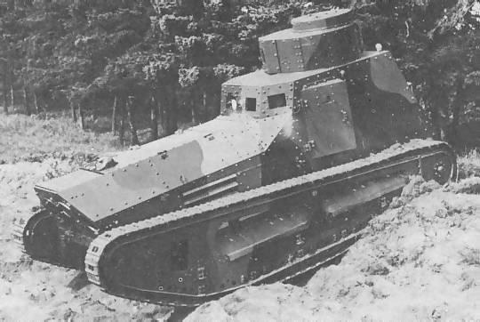 Leichte Kampfwagen (LK)